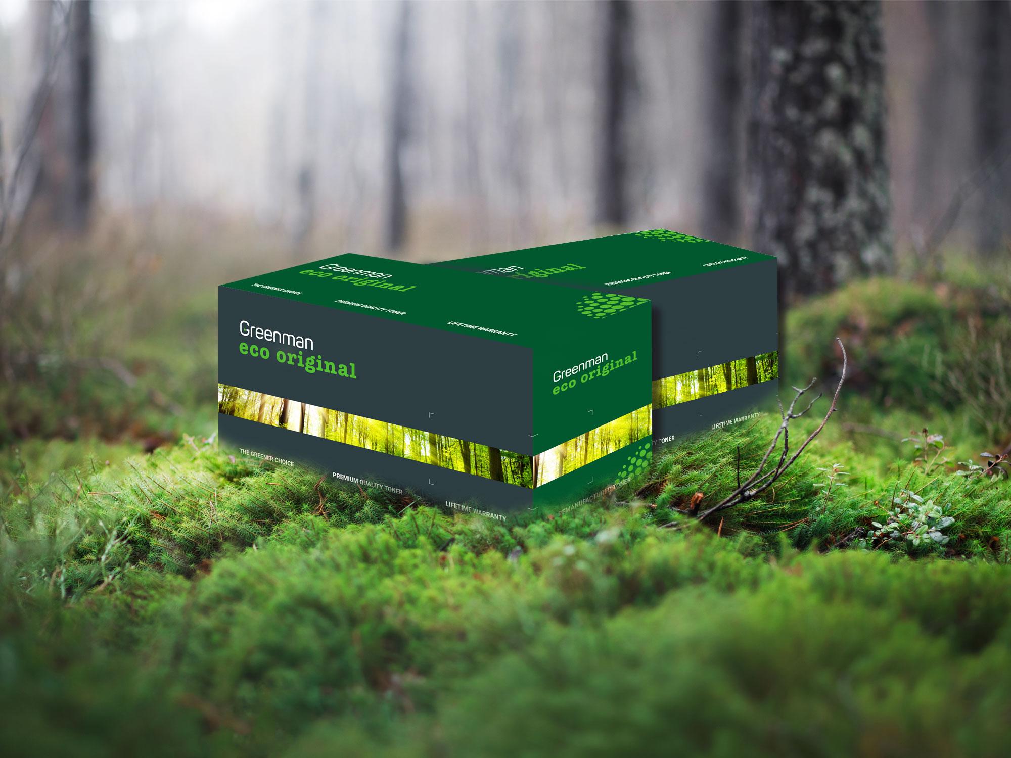 Greenman Eco Original - miljövänlig toner med originalkvalitet.